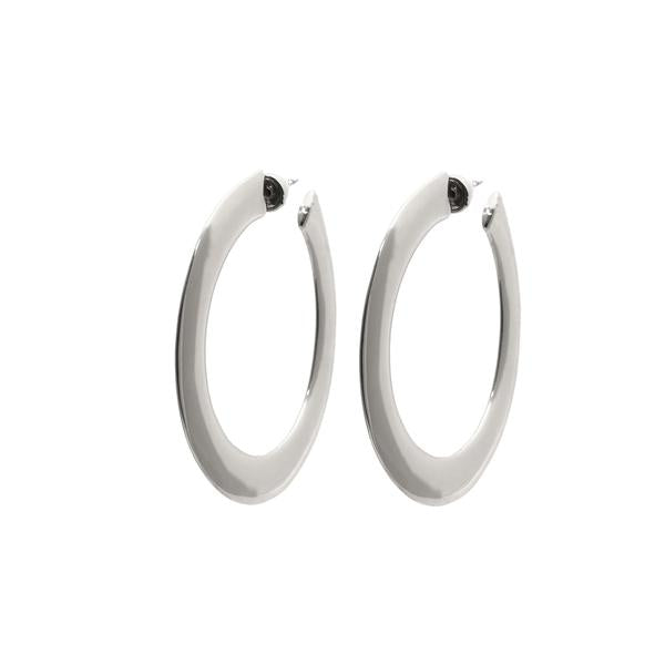 Sage Large Hoop Earrings