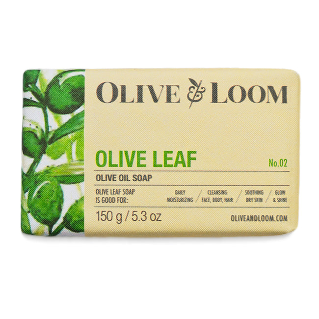Olive Leaf Olive Oil Soap