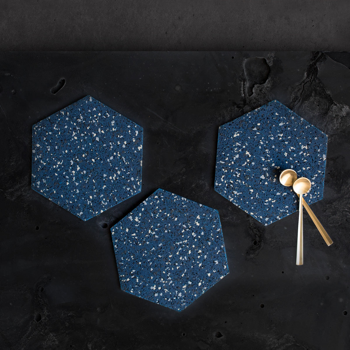 Hex Coaster / Trivet Set 6""
