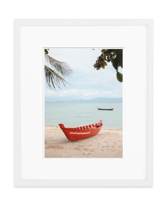 Thai Beach Art Print