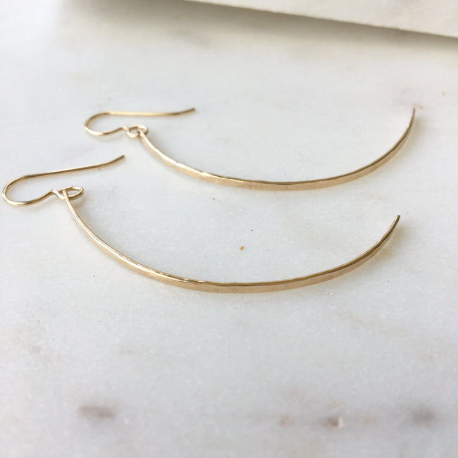Crescent Moons Earrings