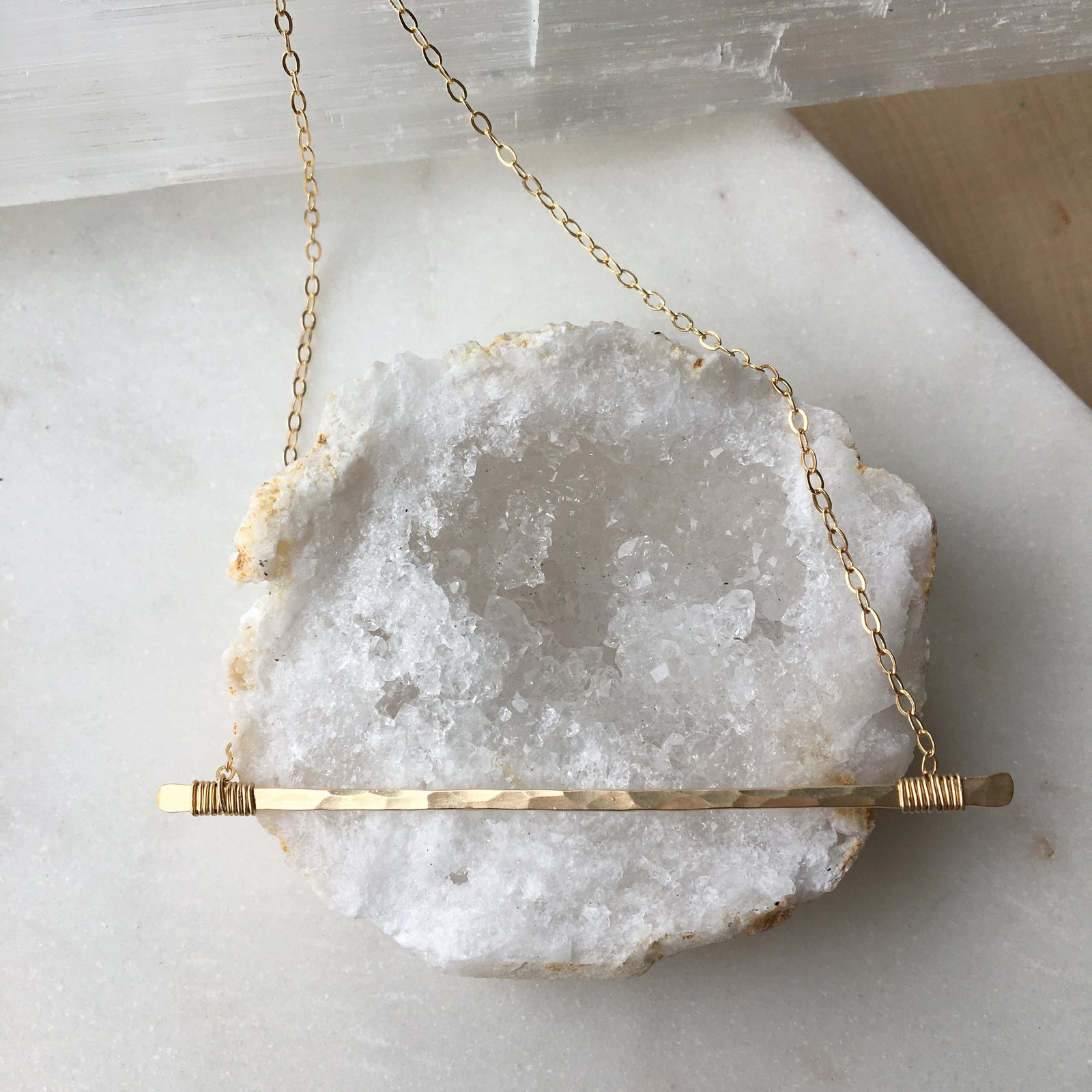 Matchstick Necklace