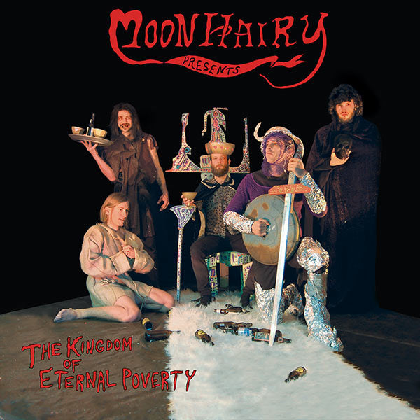 "Moonhairy - ""The Kingdom of Eternal Poverty"" LP"