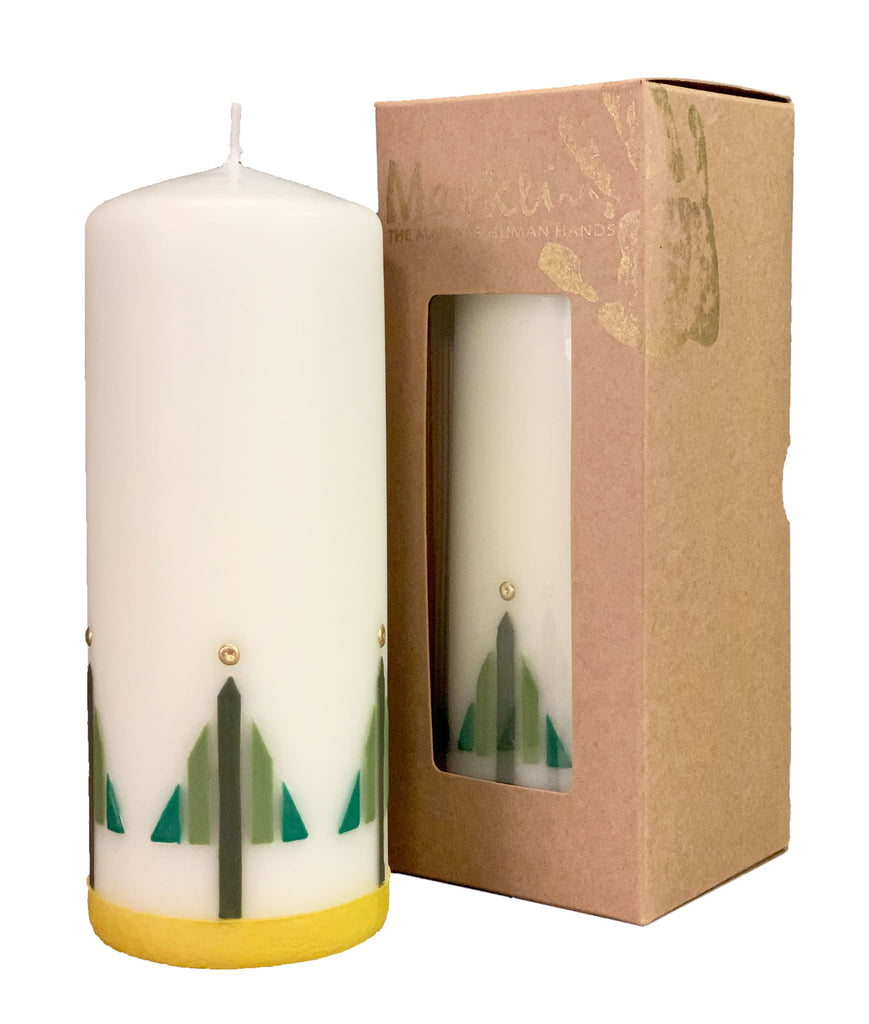 Chocorua Christmas Candle