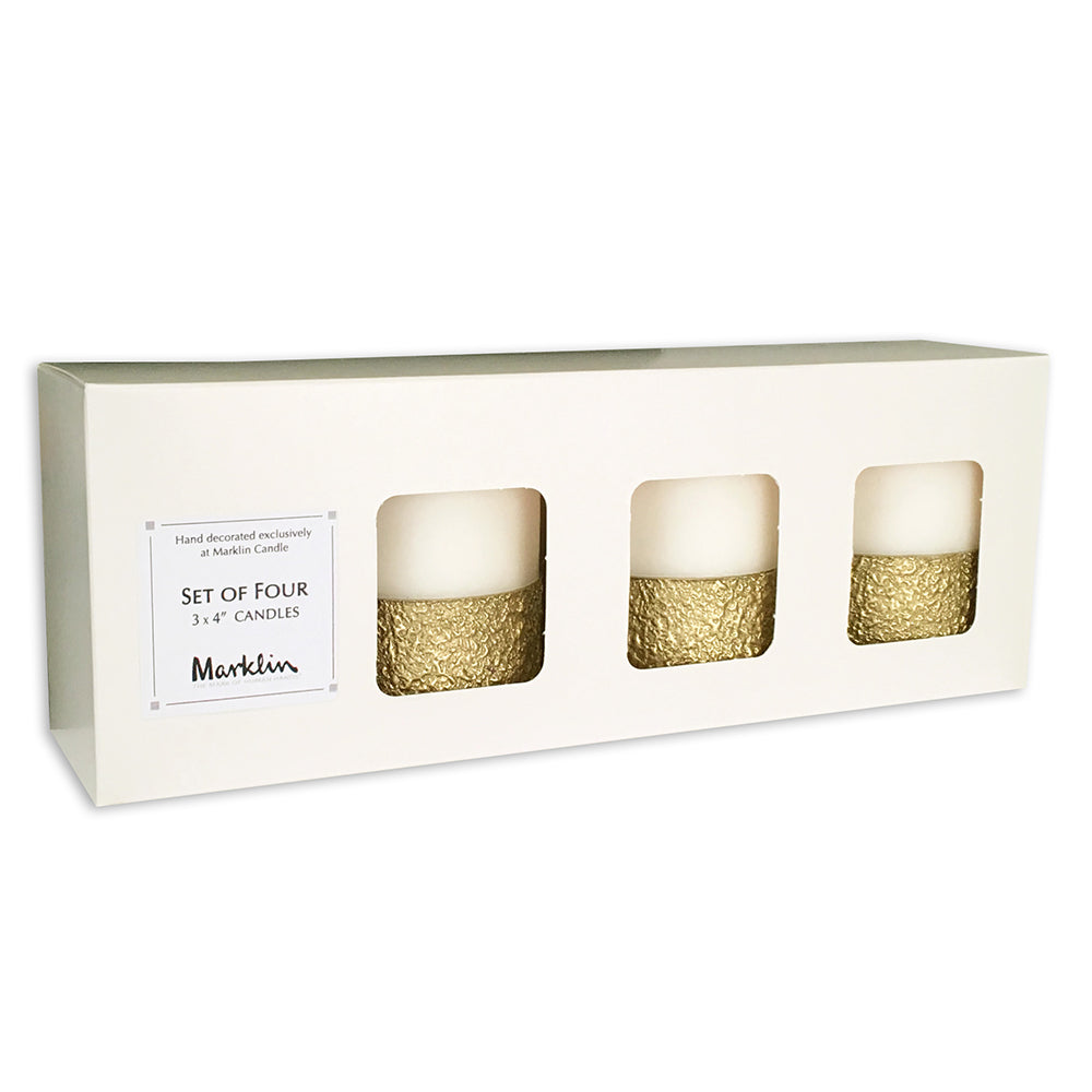 Christmas Candle Set; Paraffin