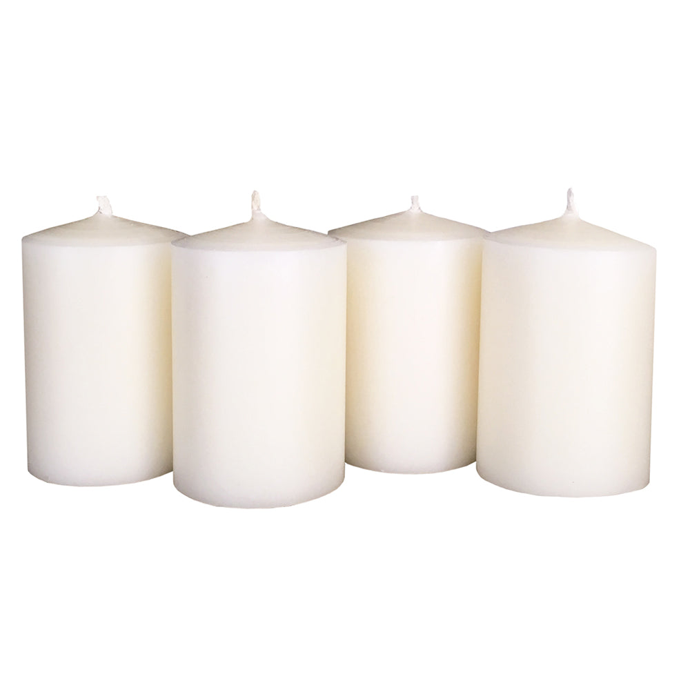 Ivory Beeswax Candle Set