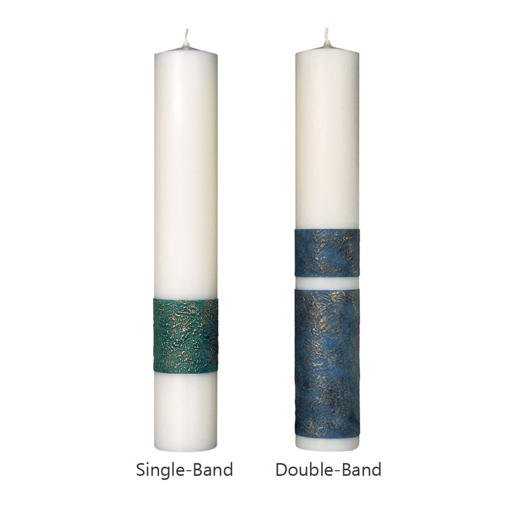 Brushed Wax™ Altar Candle Set with Sertin® End