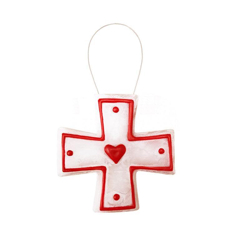 Tomie dePaola Heart Cross 2014