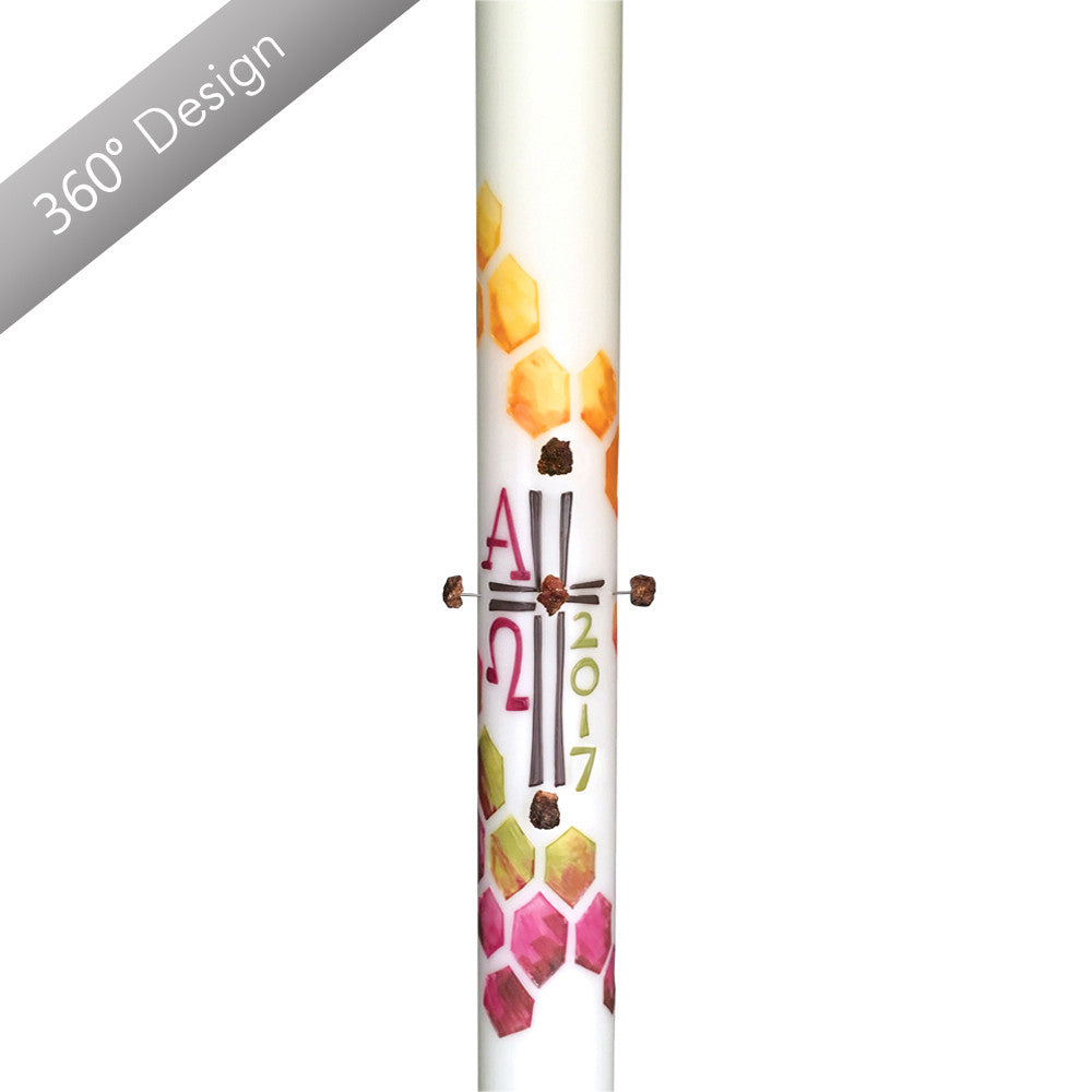 Apis Mater™ Paschal Candle.