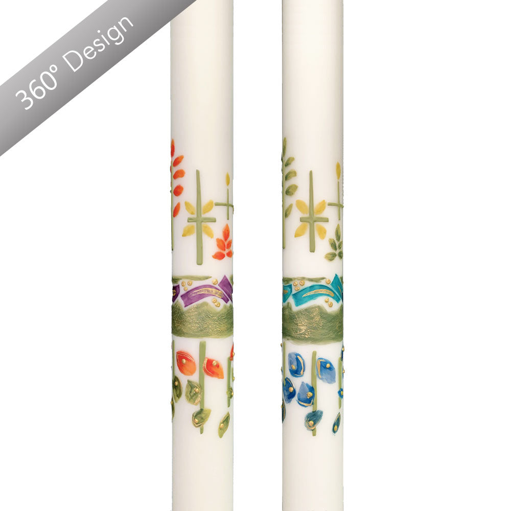 Dewfall™ Paschal Candle
