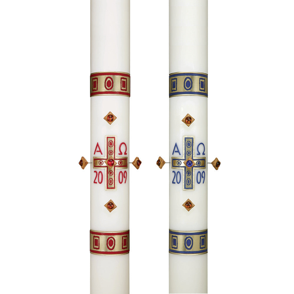 Gemmata™ Paschal Candle.