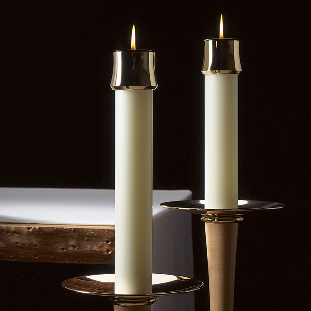 Undecorated Altar Candles with Sertin® End
