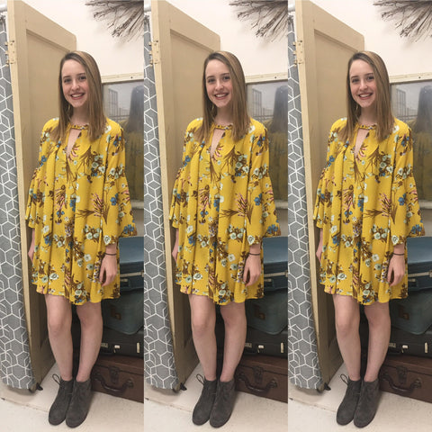 Feel Good Floral- Yellow