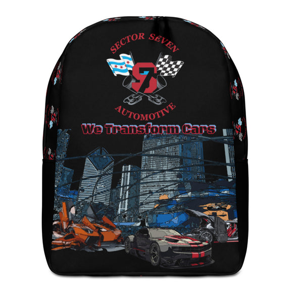 **Sector 7** Collab Statement Backpack