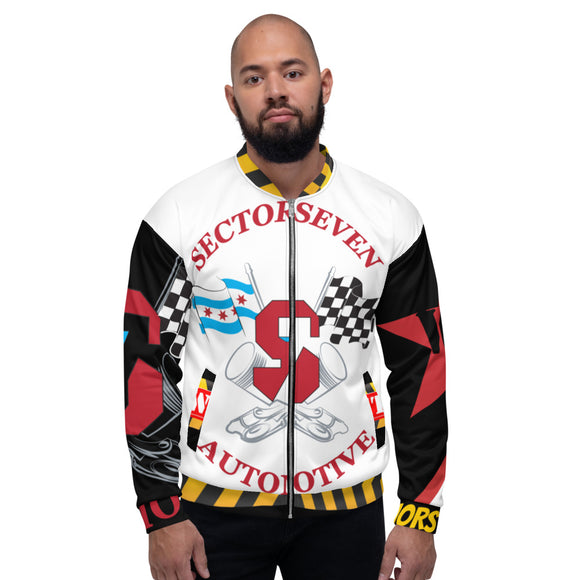 **Sector 7** Collab Statement Bomber Jacket