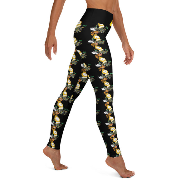 **Grind WORST! Busy Bee** Statement Leggings