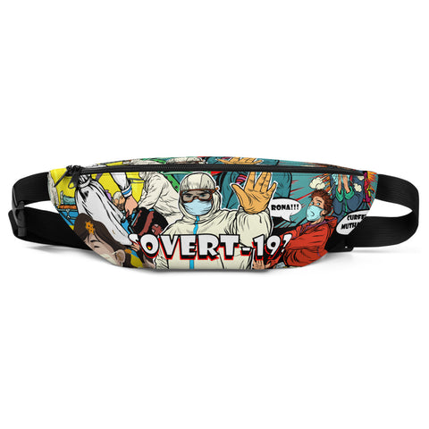 W!K**Covert-19** Statement Fanny Pack