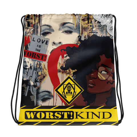 W!K**Love WORST!**Drawstring bag