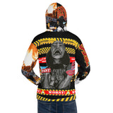 **City on Fire** Statement Hoodie