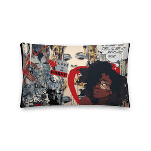 W!K**Love WORST! Statement Pillow