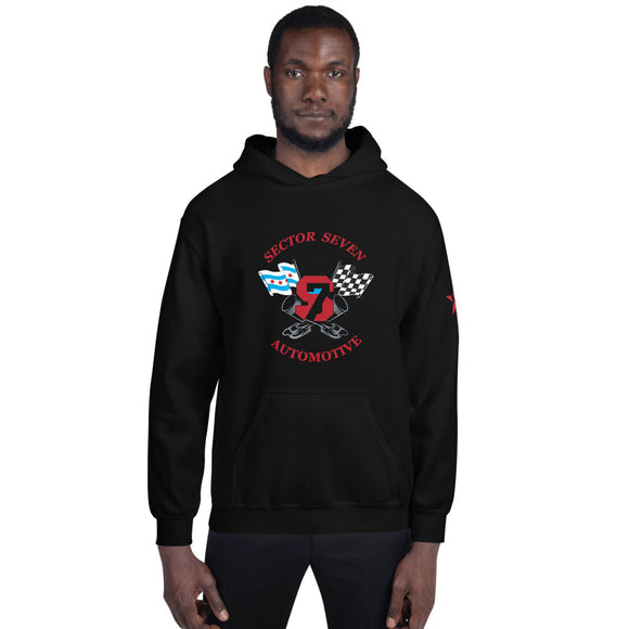 **Sector 7** Collab Statement Hoodie