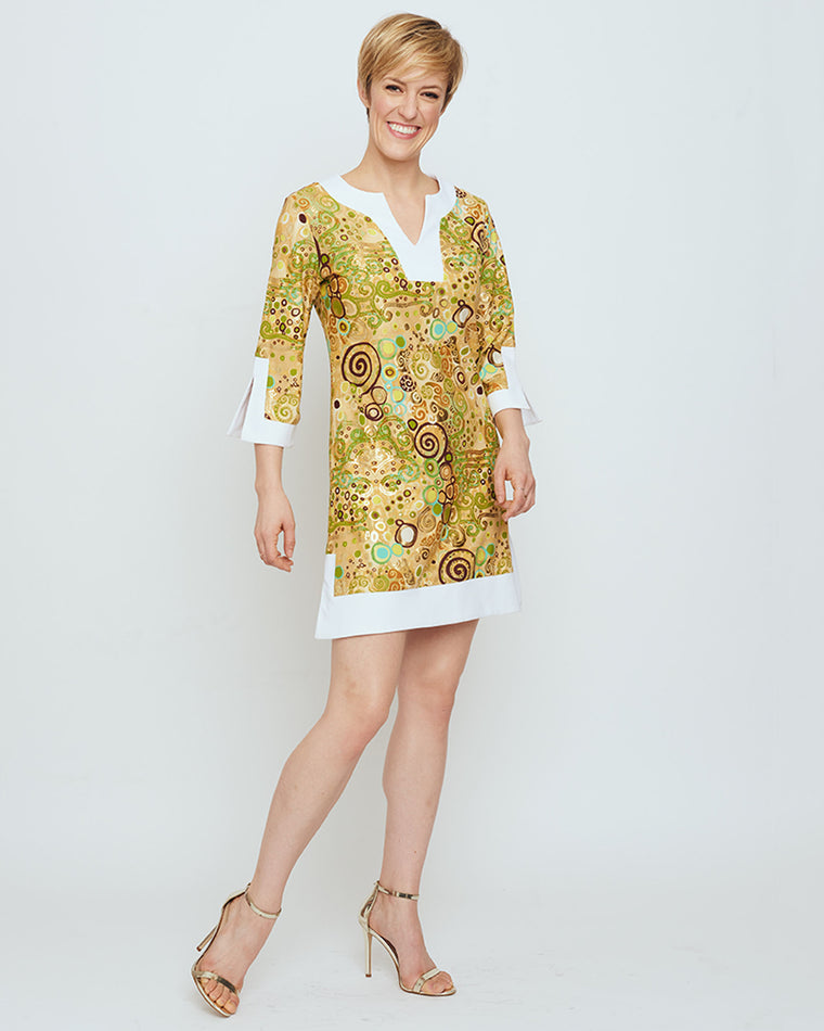 b169789e8de2 Lakena Tunic Dress in Woman in Gold