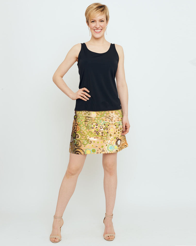 Tenerife Skort in Woman in Gold