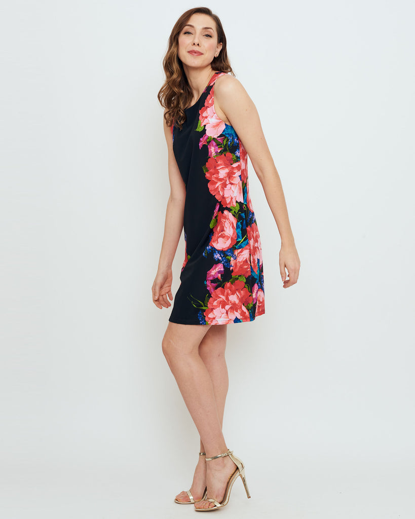Capri Sheath Dress in American Rose