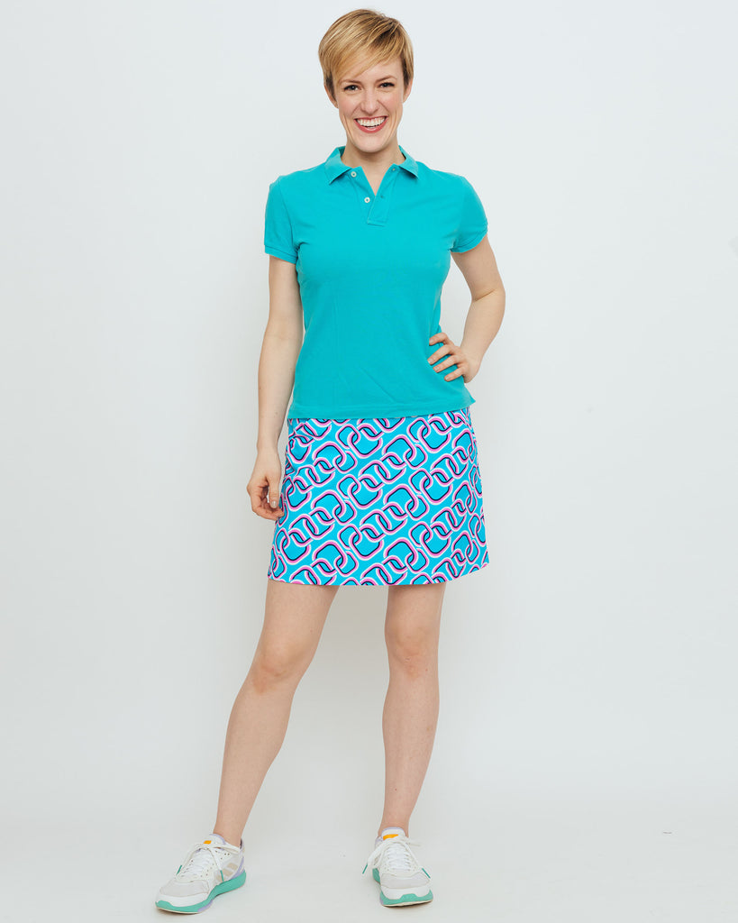 Tenerife Skort in Turquoise Magic Rings