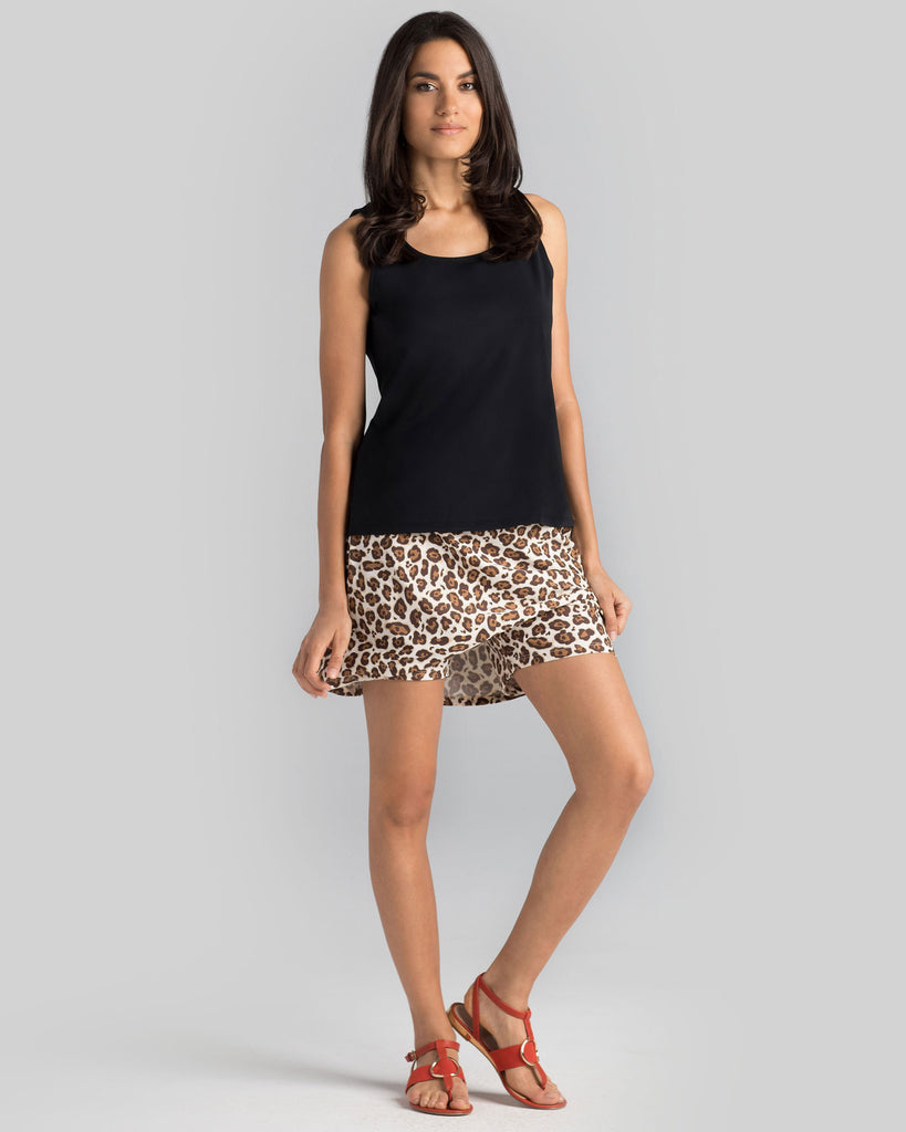 Bali Skort in Savannah Cat