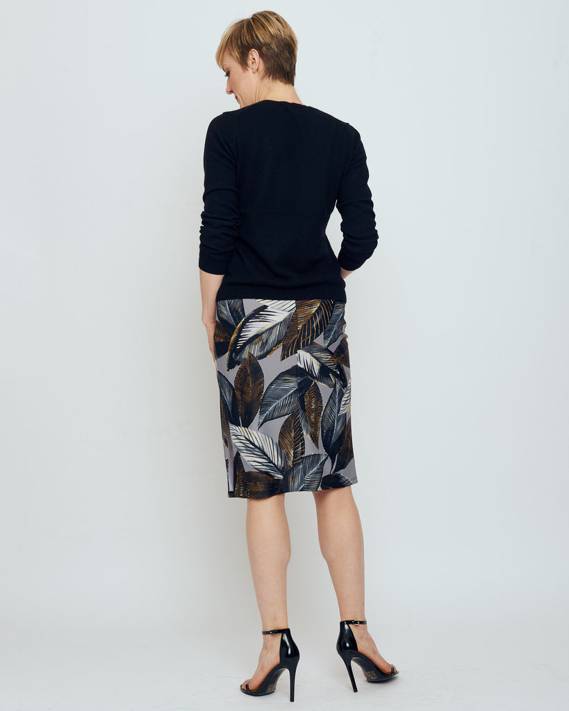 Thule Pencil Skirt in Grey A New Leaf