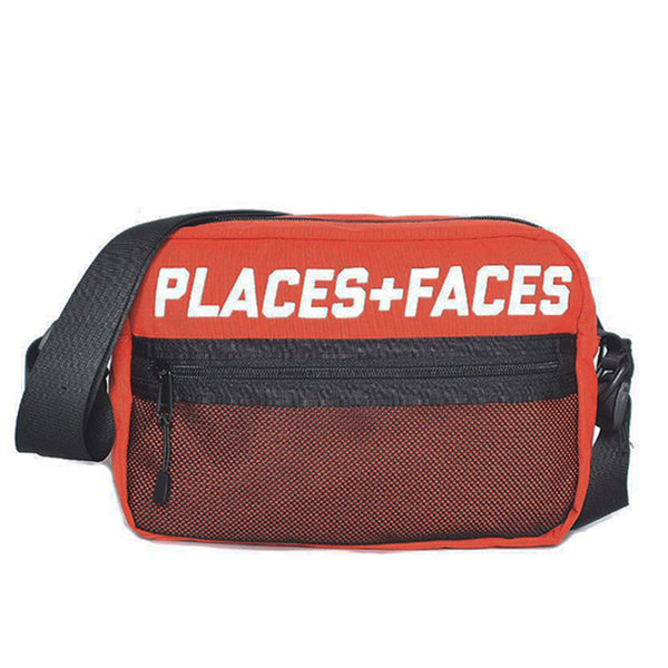 RED P+F REFLECTIVE SHOULDER BAG