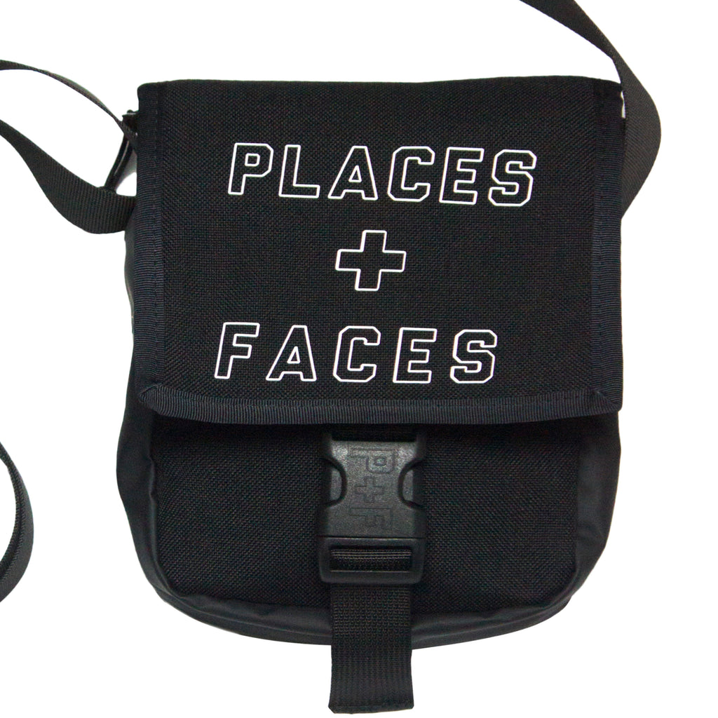REFLECTIVE SIDE BAG BLACK
