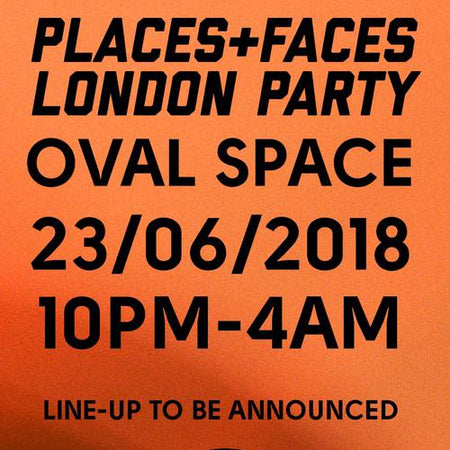 LONDON PARTY 5TH ANNIVERSARY