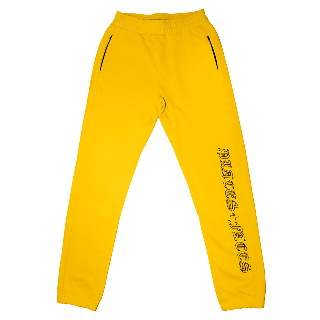 OLD ENGLISH SWEATPANTS YELLOW