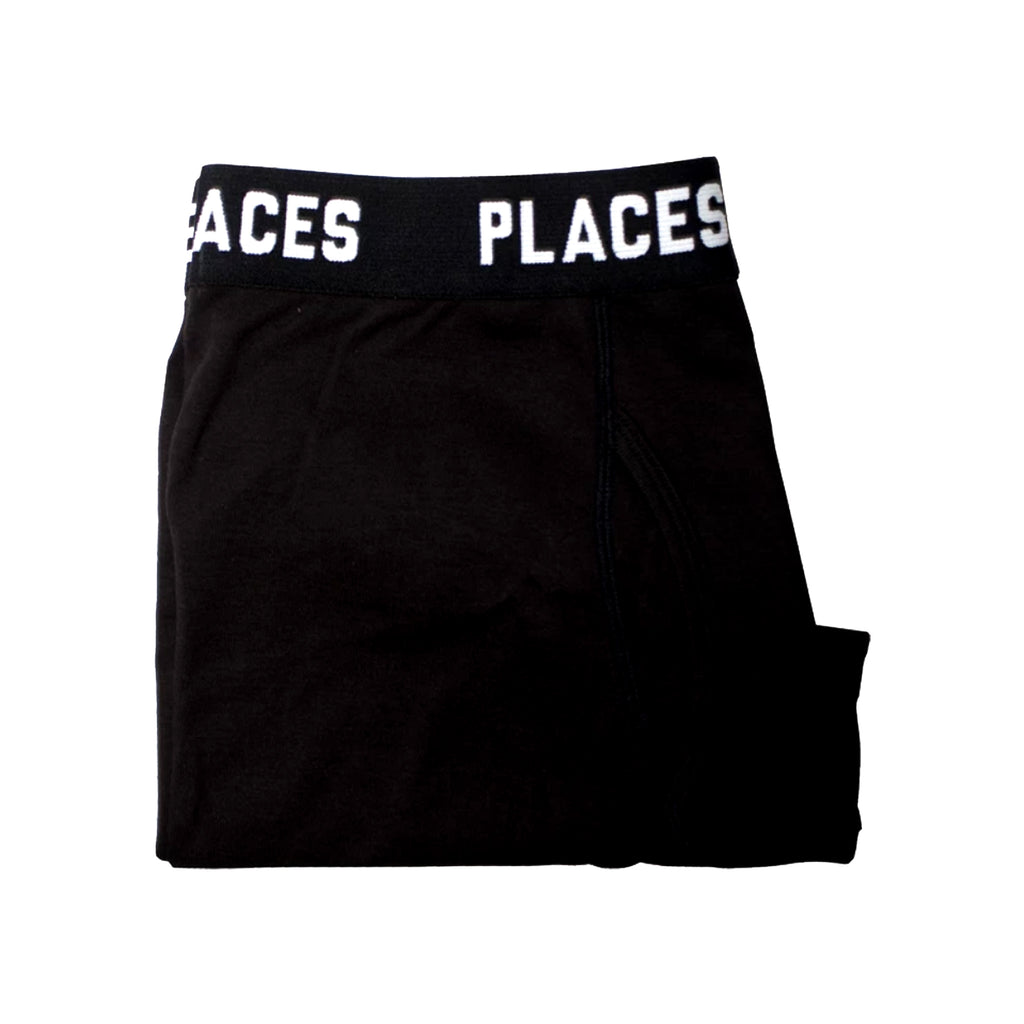 P+F UNDERWEAR SET [2] BLACK