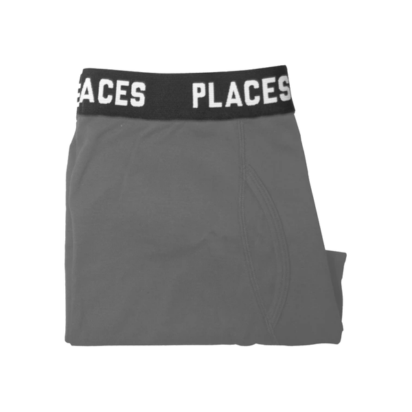 P+F UNDERWEAR SET - 2PACK - GREY
