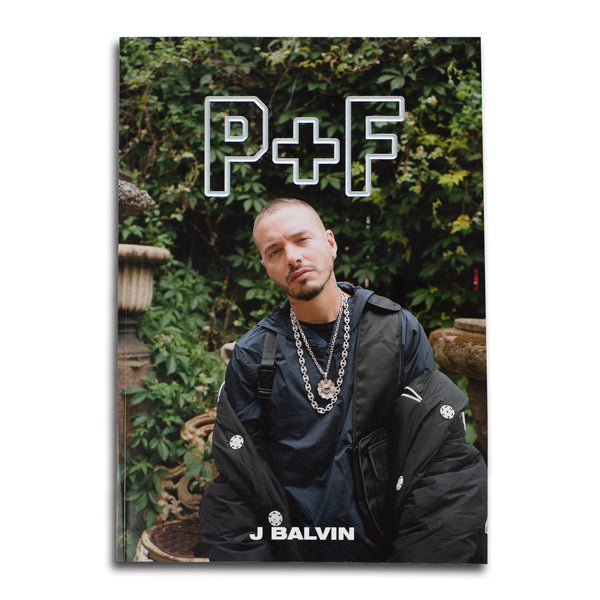 P+F MAGAZINE VOL. 4 - J BALVIN COVER