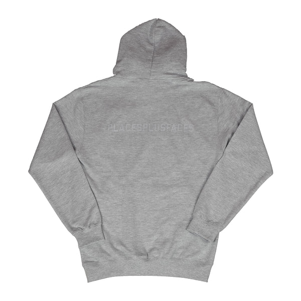 GREY PLACES PLUS FACES HOODIE 3M