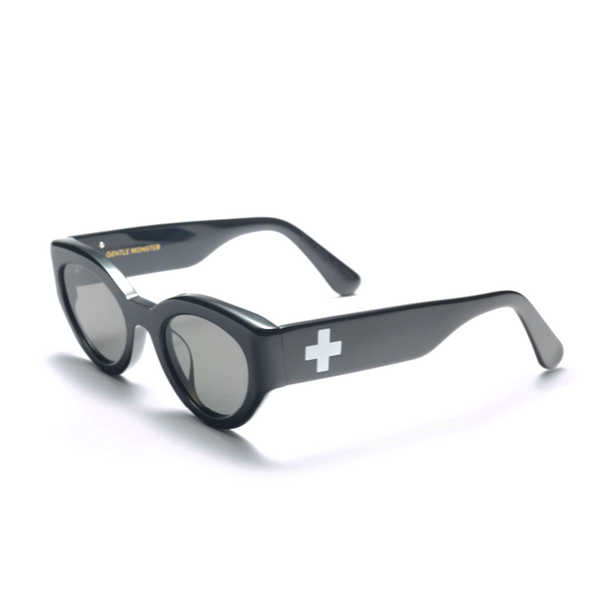 P+F X GENTLE MONSTER SUNGLASSES - BLACK