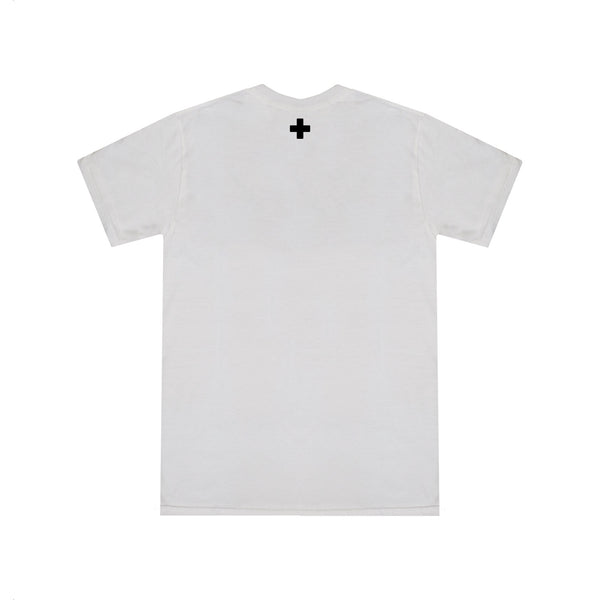 SIGNATURE LOGO T-SHIRT - WHITE
