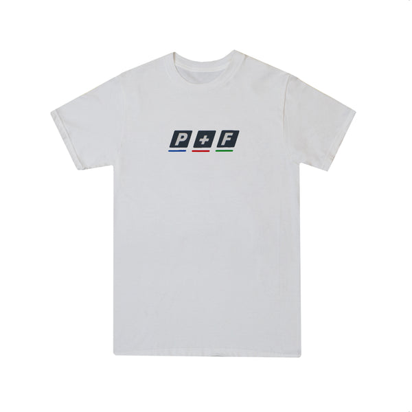 BROADCAST T-SHIRT - WHITE