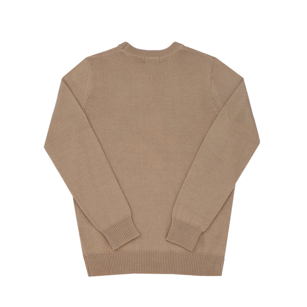CAUTION MERINO SWEATER - OCHRE