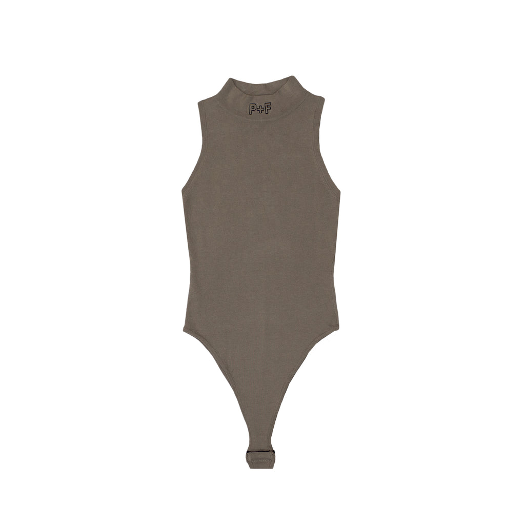 P+F BODYSUIT - GREY