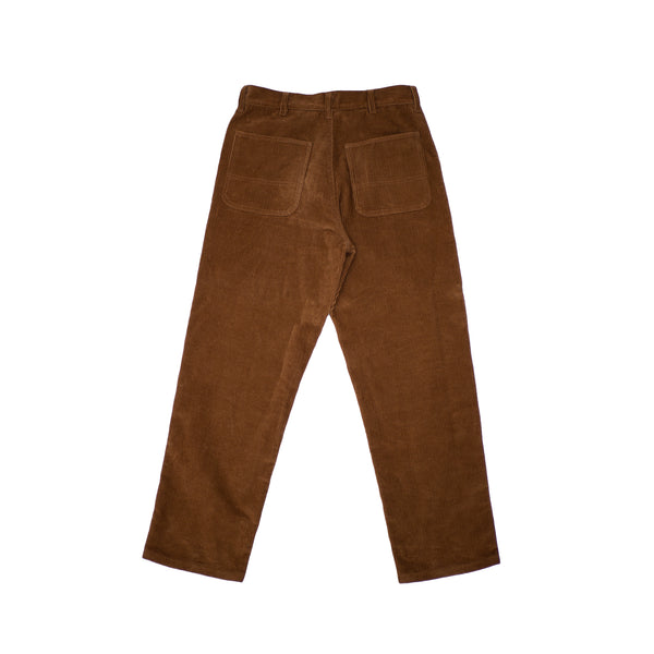 CORDUROY TROUSERS - BROWN