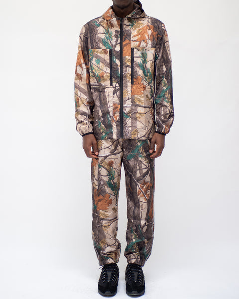 TECH NYLON TRACKJACKET - CAMO