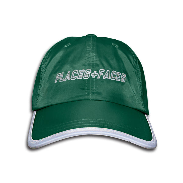 GREEN NYLON CAP