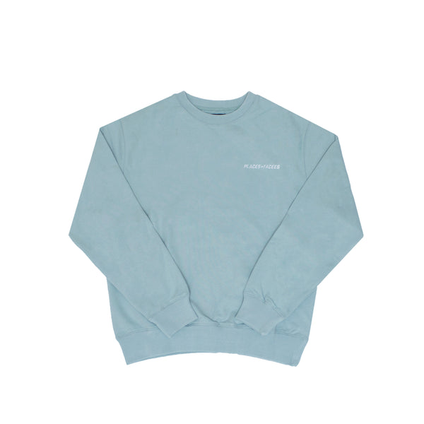 LOGO SWEATSHIRT - PALE BLUE