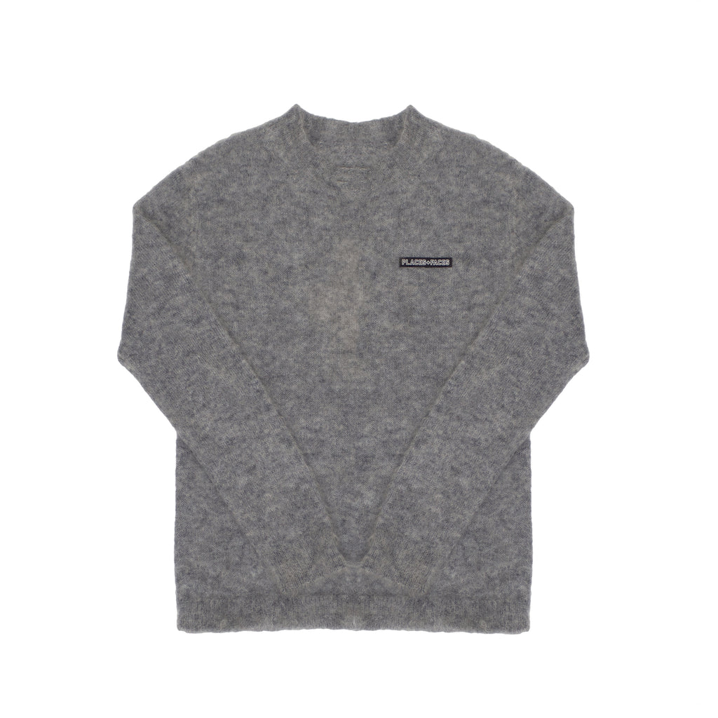 MOHAIR SWEATER - GREY