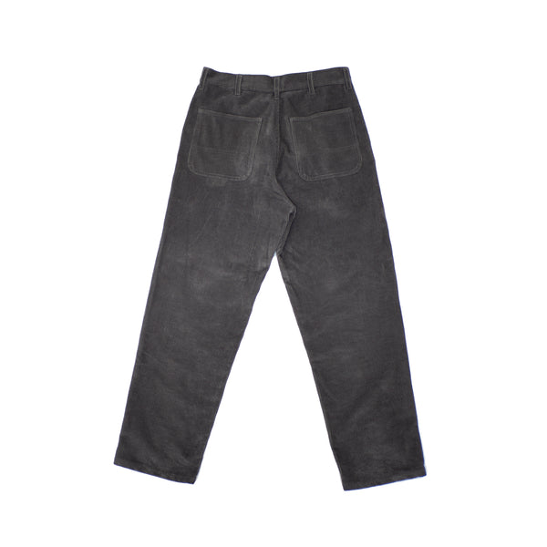 CORDUROY TROUSERS - GREY